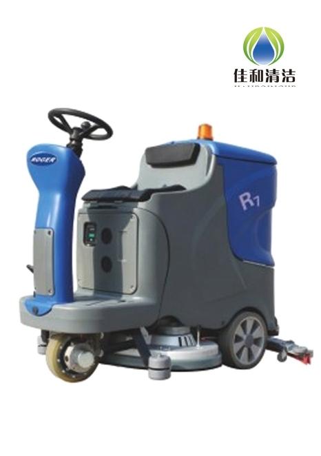 洗地机是全自动还是人工