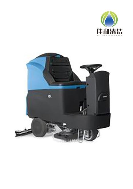 驾驶式洗地机清洁时出现扬尘是怎么回事?